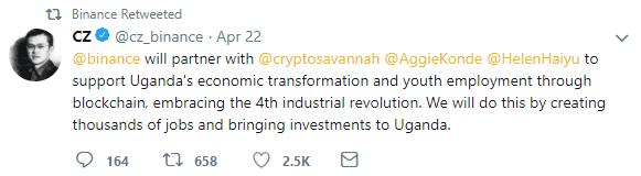 Ugandan Economy to be Boosted by Cryptocurrency Activity