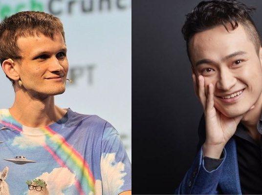 Vitalik Buterin vs. Justin Sun