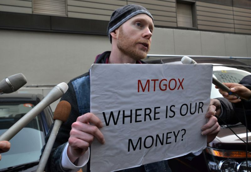 8,200 Bitcoins from Mt. Gox Wallet Moved in the Last 24 Hours - Price Decline
