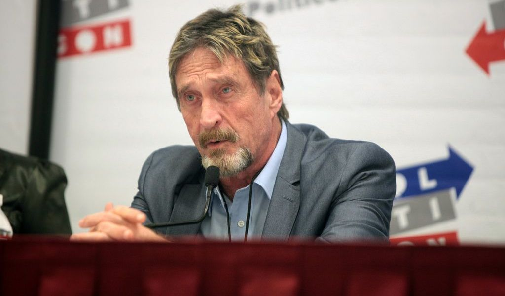 John McAfee - War on Cryptocurrencies, Declaration of Currency Independence, and The Blockchain Revolution