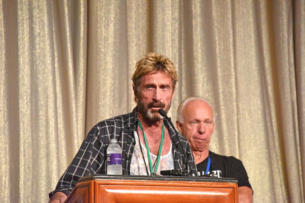 "John McAfee to Launch a Crypto-Backed Fiat Currency ""McAfee Coin"" in Less Than a Month"