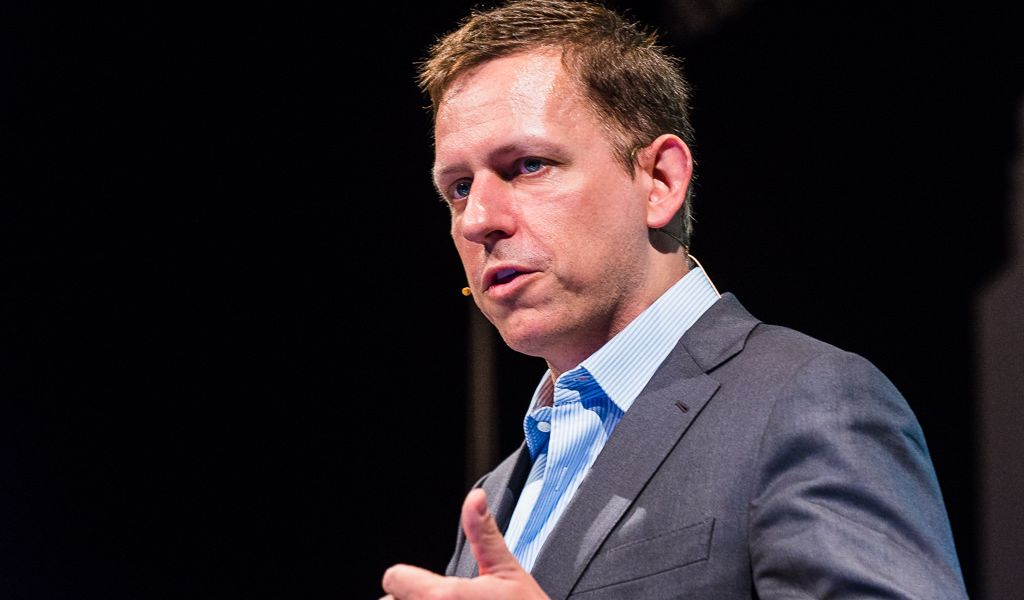Peter Thiel's Founders Fund Backs Startup Bringing Big Investors into Crypto Sphere
