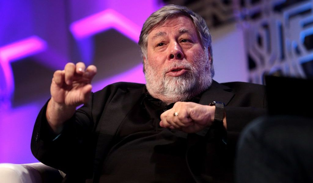 Apple Co-founder Steve Wozniak Says Blockchain is a 'Bubble' but Still Thinks Bitcoin is 'Amazing'