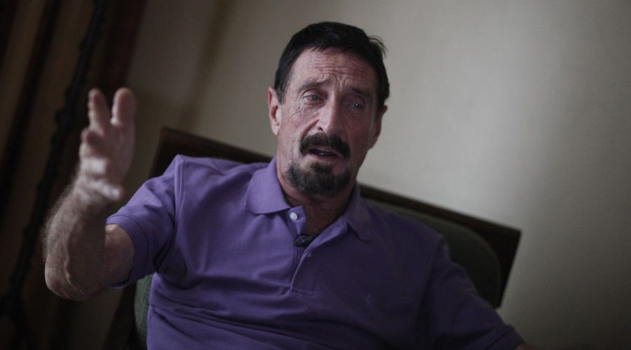 John McAfee Just Survived an Assassination Attempt