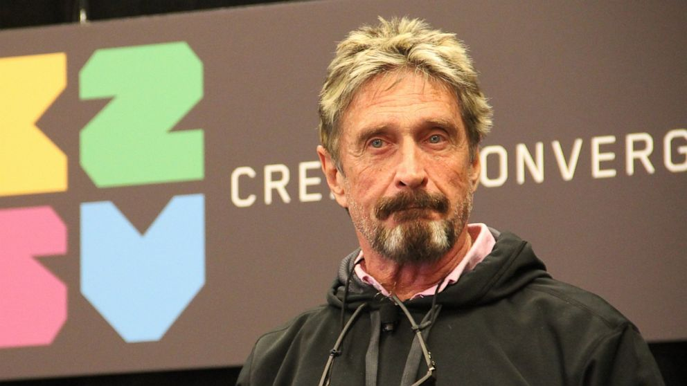 "John McAfee To End His Involvement With ICOs Following ""SEC Threats"""