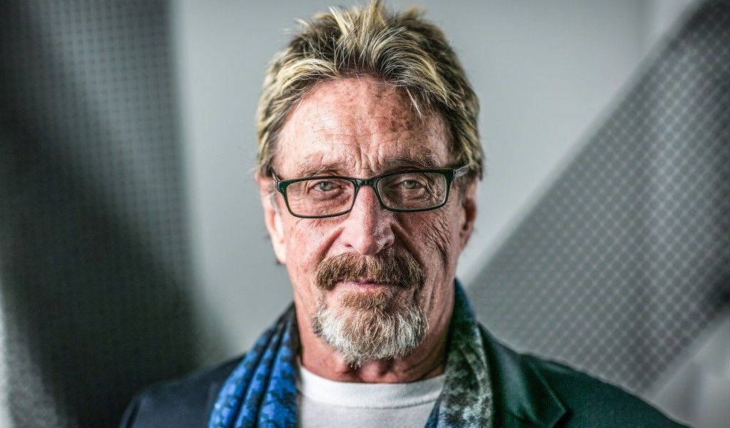 John McAfee Will Run for America's President in 2020