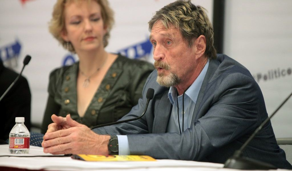 Why the SEC Should Have Debate With John McAfee
