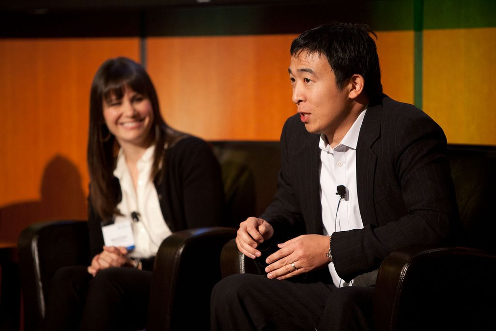 2020 US Presidential Candidate Andrew Yang Accepts Crypto Donations