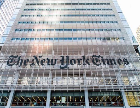 The Longest Running Blockchain has Existed on NYT Pages Since 1995