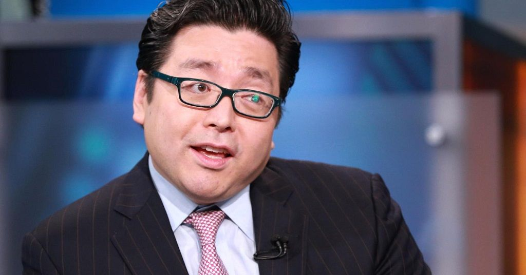 Tom Lee Shows Confidence On Bitcoin Movement, Claims Market Is Gaining Momentum