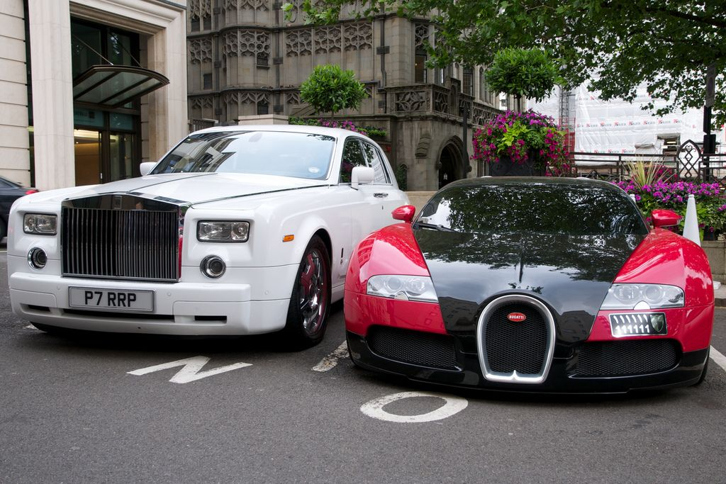 you can now purchase rolls royce, bentley or bugatti cars with