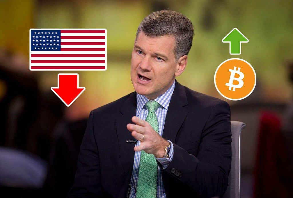 CEO Say Bitcoin Could Be Safe Have If As US Economy Collapses Under Debt