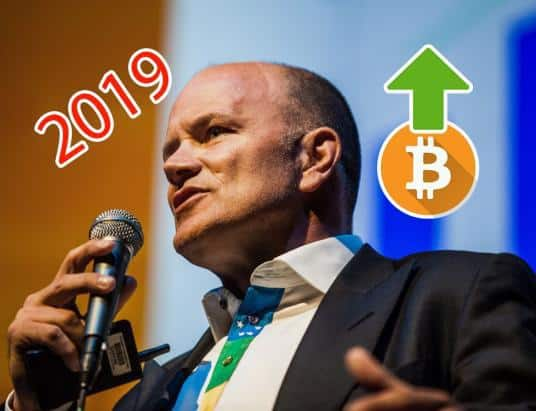 Mike Novogratz Expects the Crypto Market to 'Flip' in 2019