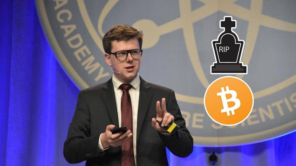 Bitcoin Millionaire Erik Finman Bitcoin Will Not Survive In The Long-Term