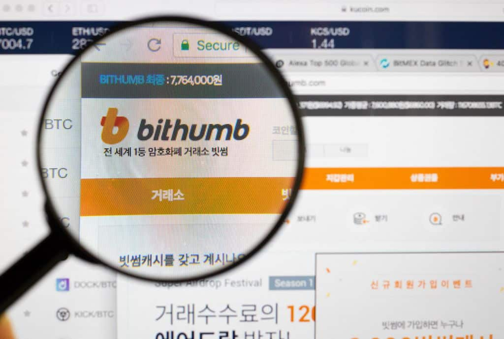 South korean cryptocurrency exchange hacked