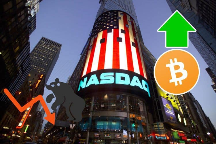 Nasdaq Closing in on a Bear Market, From Stocks to Bitcoin