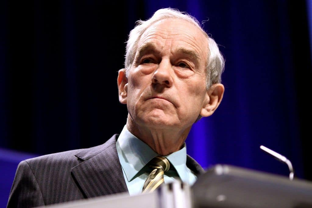 Ron Paul The Fed is Dead, Now Tax Free Crypto