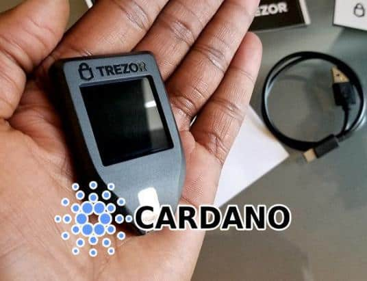 Trezor Hardware Wallet Now Supports Cardano ADA