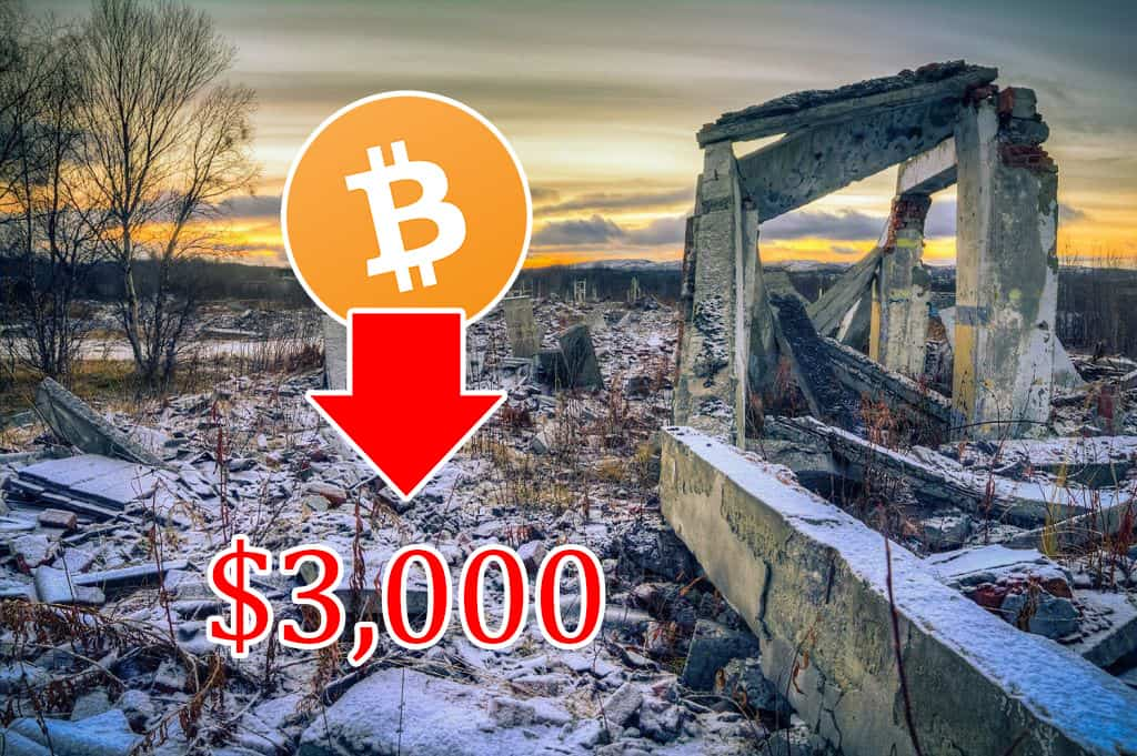 """Civic CEO Suggests Incoming """"Nuclear"""" Crypto Winter if Bitcoin Breaks $3,000"""