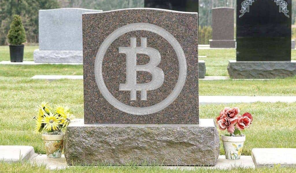 "Data Shows Bitcoin Was Proclaimed ""Died"" 90 Times in 2018 Whilst Almost 1,000 Altcoins Disappeared Completely"