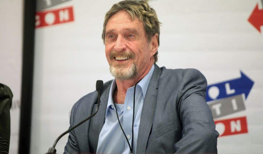 John McAfee Taxation Is Illegal, And I Have Not Filed A Tax Return In 8 Years