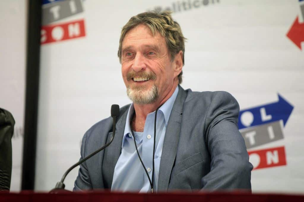 McAfee 2020 Mogul Will Conduct Presidential Bid in Exile After Fleeing the Country