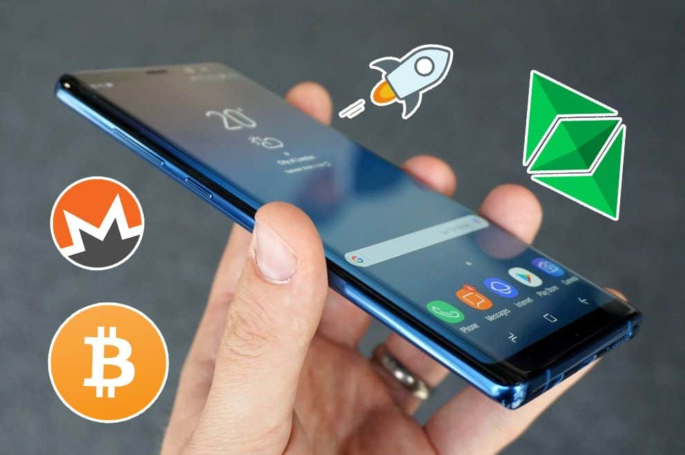 Samsung Galaxy S10 With a Crypto Wallet - Leaked