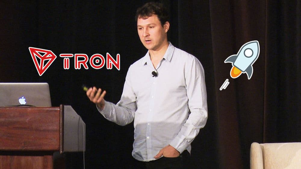 Stellar Co-Founder - '90% of Crypto Projects Like Tron are Garbage'