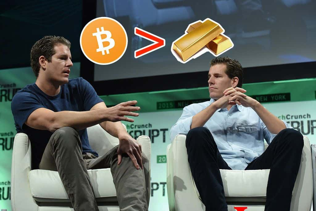 Winklevoss Twins Call for Crypto Regulations, Says Bitcoin Can Overtake Gold