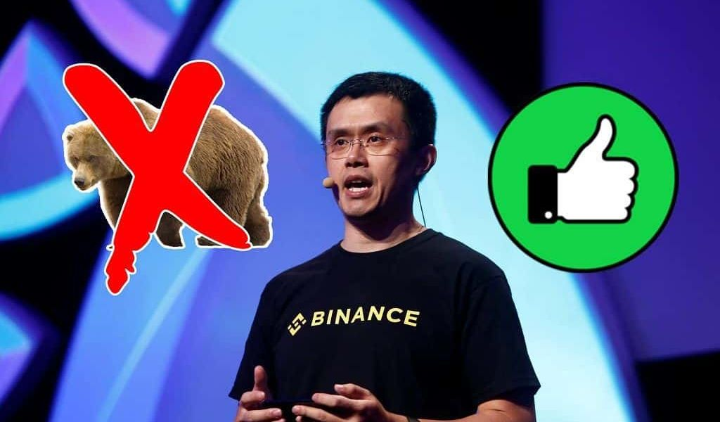 Changpeng Zhao Says His Exchange Can Survive Any Bear Market
