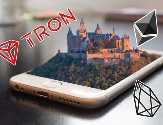 Ethereum, EOS, and TRON- The Battle for dApp Domination Who is Winning