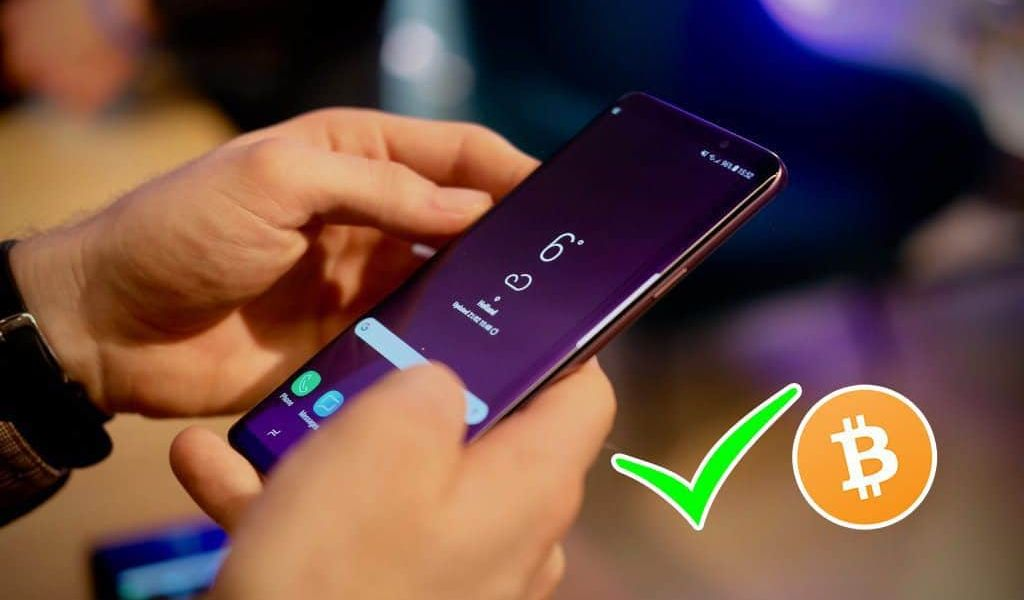 galaxy s10 plus cryptocurrency wallet