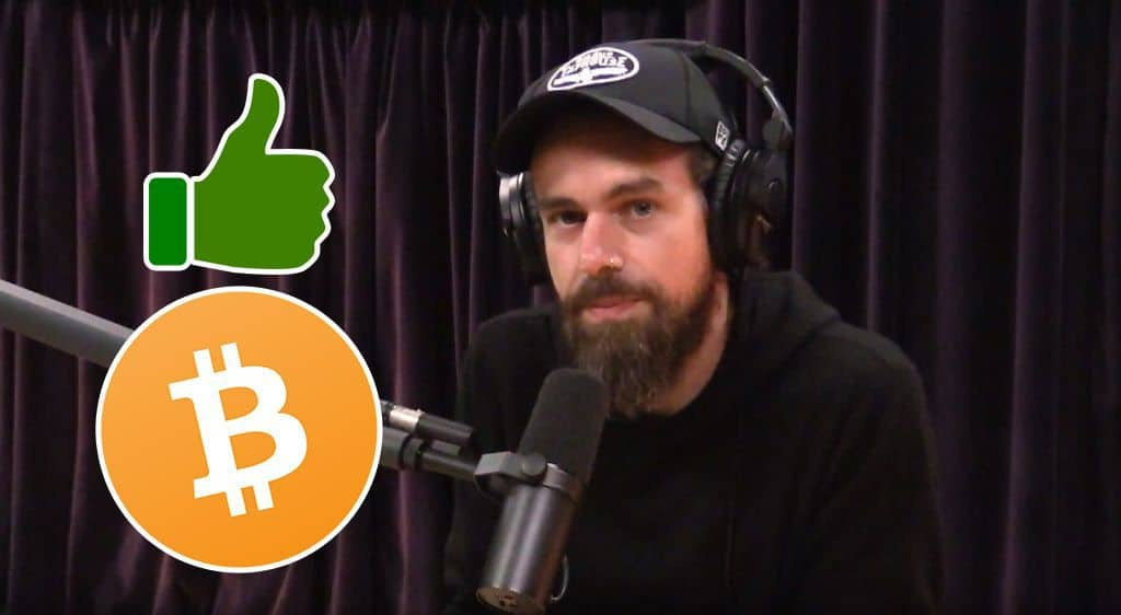 The CEO Of Twitter Pumps Bitcoin During A Podcast With Joe Rogan