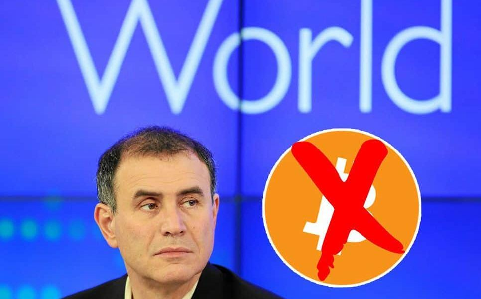 "Cryptocurrency Critic Nouriel Roubini Lambasts Bitcoin Holders, Calling Them ""Arrogant"" and ""Absolutely Clueless"""