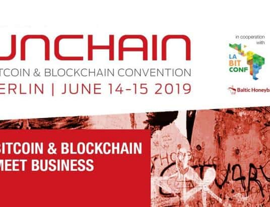 UNCHAIN, one of the world's leading blockchain events to be held in Berlin