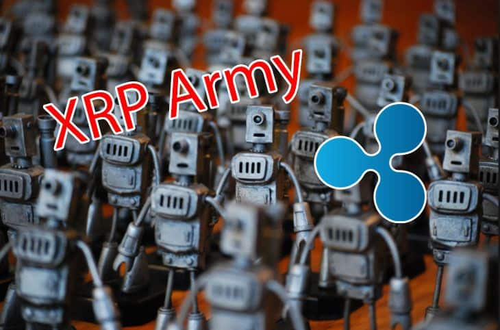 Analyst Discovers That The 'XRP Army' is a Bunch of Bots
