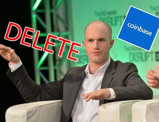 Bitcoin and Cryptocurrency Fans are Closing Their Coinbase Accounts to Protest
