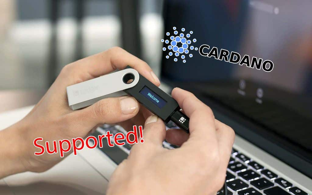 Breaking News Cardano (ADA) Can Now Be Stored on Ledger Nano X and S