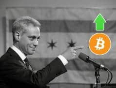 Chicago Mayor Suggests Cryptocurrency Will Save Countries from Financial Crises, Says Trend Lines Are Affirmative