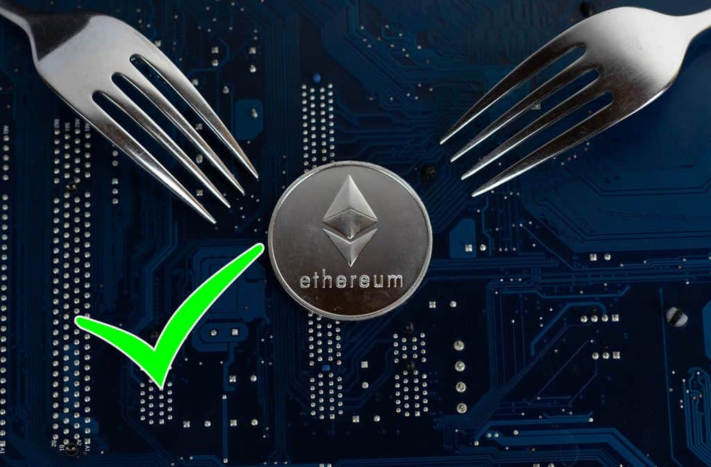 Ethereum Hard Forks Successfully