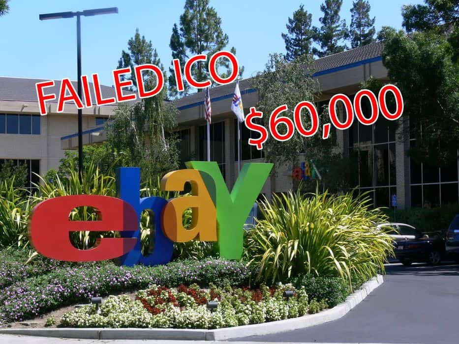 Founder Selling Failed ICO on eBay for $60,000