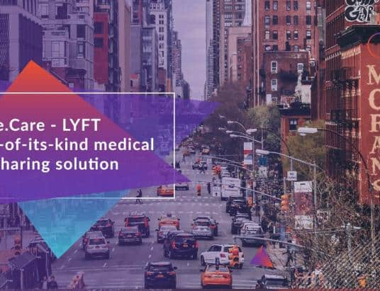 Solve.Care leverages Lyft to improve access to medical care with first-of-its-kind blockchain and ridesharing service integration