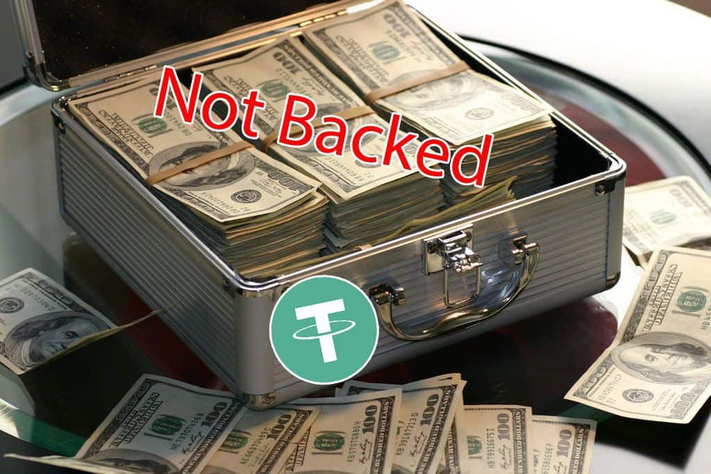 Tether Admits it's No Longer Backed by Dollars