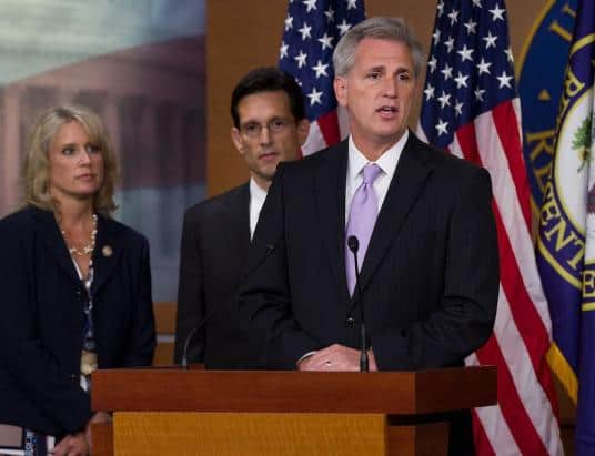 US House Minority Leader Kevin McCarthy Urges US Government to Go All-In on Blockchain Technology
