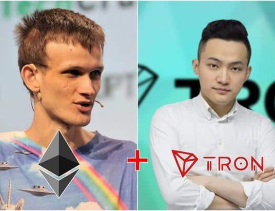 Justin Sun Potential Partnership With Ethereum In The Near Future