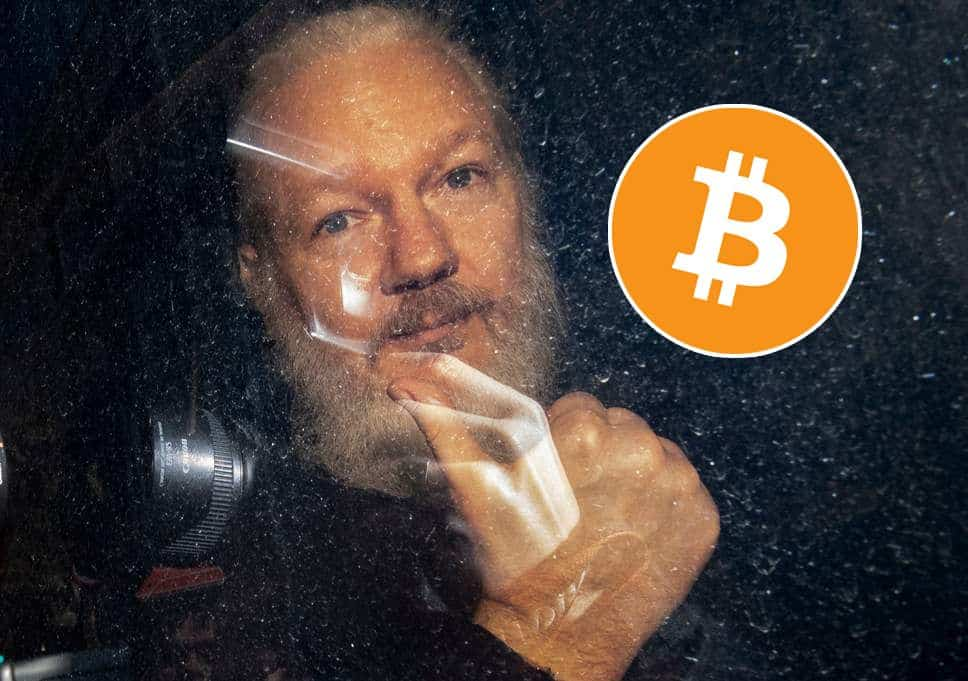 Over $40,000 in Bitcoin Donations for Wikileaks Founder Julian Assange Following His Arrest