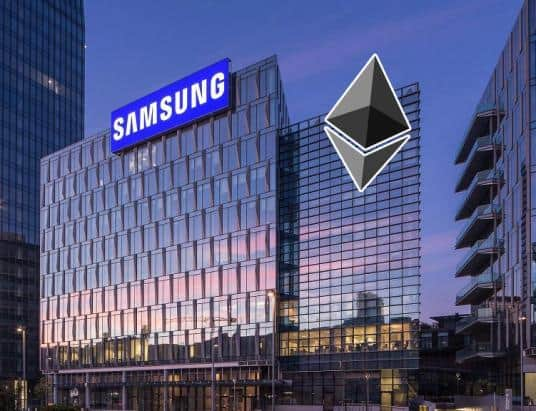 """Samsung is Developing Ethereum-Based """"Samsung Coin"""", Currently Building New Blockchain Mainnet"""