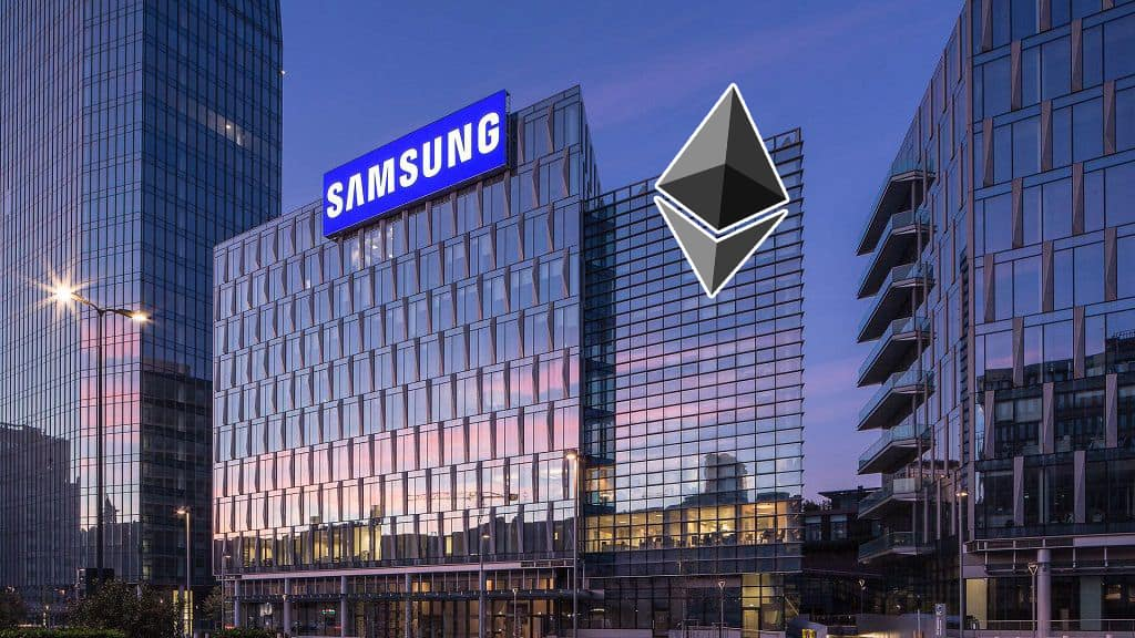 "Samsung is Developing Ethereum-Based ""Samsung Coin"", Currently Building New Blockchain Mainnet"