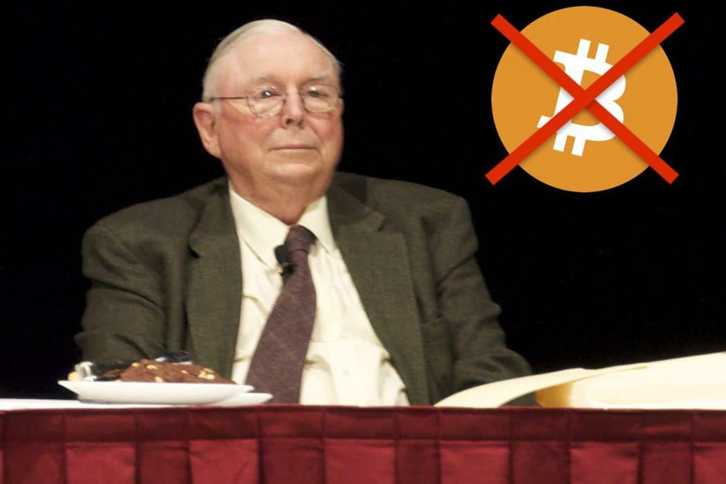 Charlie Munger claims Bitcoin investors gather to celebrate the life and work of Judas Iscariot