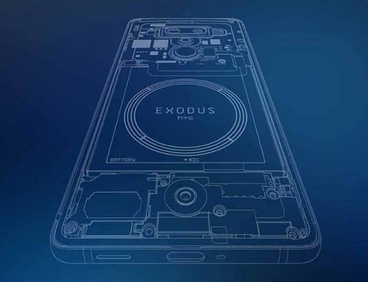 The HTC Exodus 1s is the first Bitcoin phone